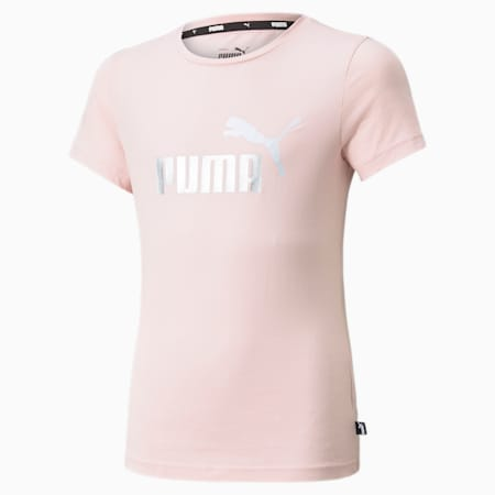 Essentials Jugend T-Shirt mit Logo, Lotus, small
