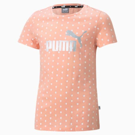 Essentials+ Youth Tee, Apricot Blush, small-SEA