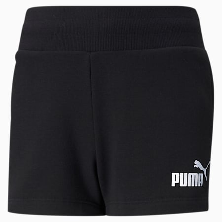 Młodzieżowe szorty Essentials+, Puma Black, small