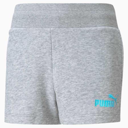 Shorts Essentials+ juveniles, Light Gray Heather, small