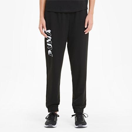 Modern Sports Women's Sweatpants, Puma Black, small-GBR