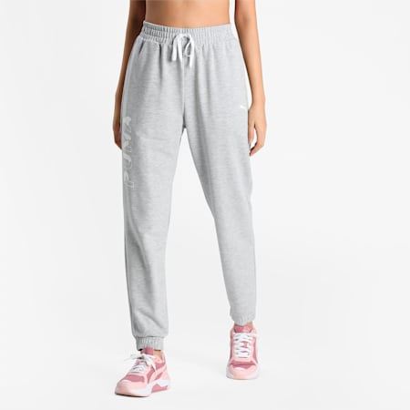Modern Sports Women's SweatRelaxed Pants, Light Gray Heather, small-IND