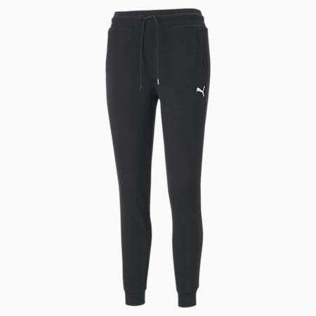 Style Cat Women's Sweatpants, Cotton Black, small-SEA