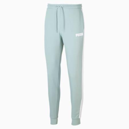 Pantalon en sweat en maille pour homme, Blue Surf, small