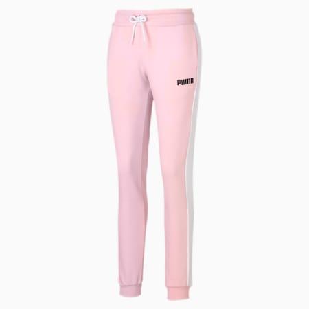 Damen Gestrickte Sweatpants, Crystal Rose, small