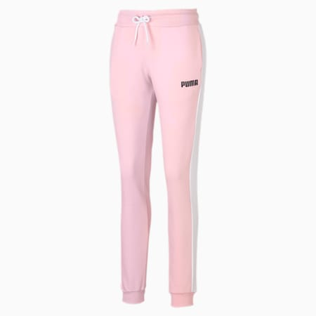 Knitted Women's Sweatpants, Crystal Rose, small