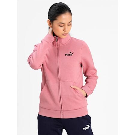 Essential Women's Track Jacket, Foxglove, small-IND