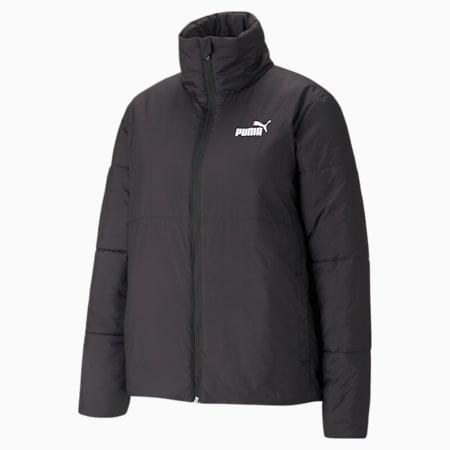 Essentials+ Padded Women's Jacket, Puma Black, small-GBR