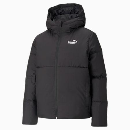 Essentials+ CB Down Women's Jacket, Puma Black, small