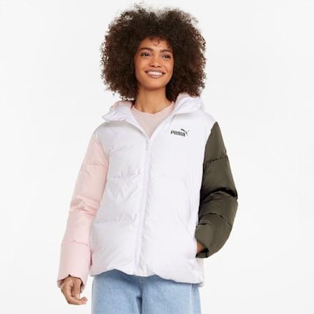 Essentials+ CB Down Women's Jacket, Puma White, small