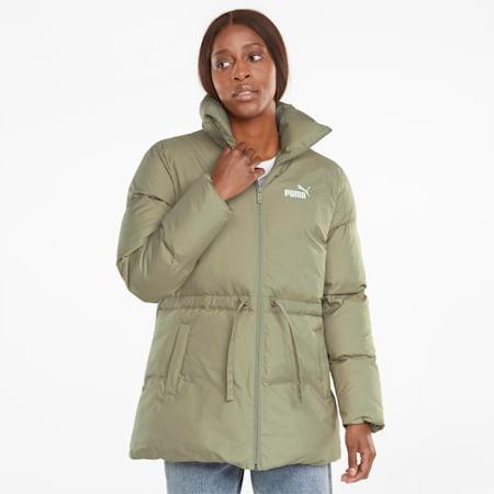 Essentials+ Eco Puffer Women's Jacket, Spray Green, small