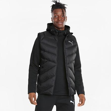 PWRWarm packLITE Men's Down Vest, Puma Black, small-GBR