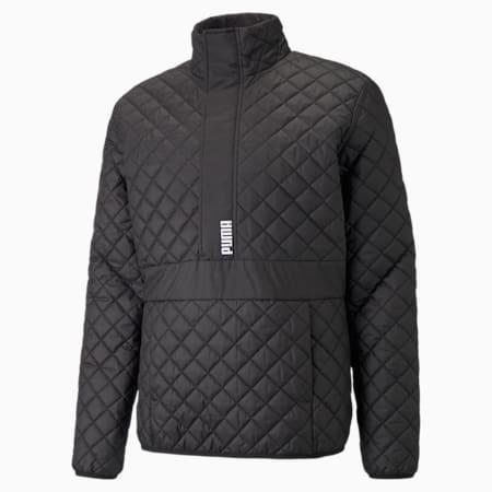 Half-Zip Padded Men's Jacket, Puma Black, small