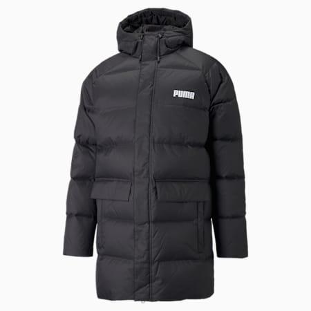 Solid Down Men's Jacket, Puma Black, small