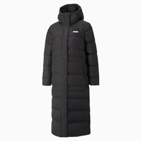 Long Oversized Down Women's Jacket, Puma Black, small