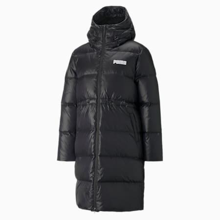 Adjustable Down Women's Coat, Puma Black, small