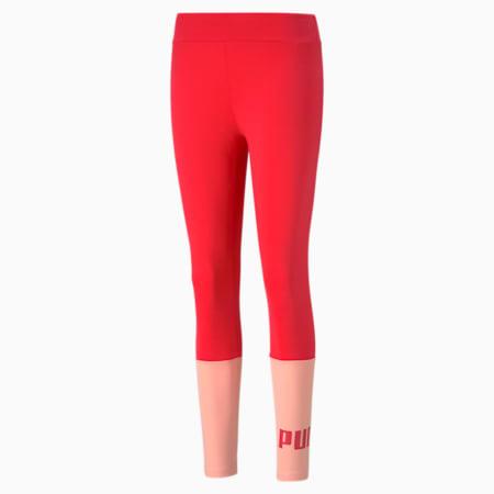 Essentials+ Colourblock Women's Leggings, Poppy Red, small-GBR