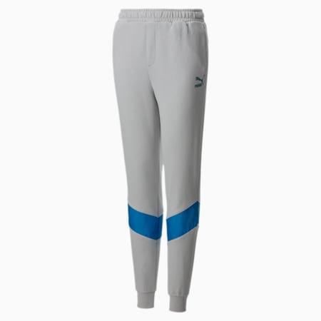 Pantalon en sweat taillé pour enfant, Gray Violet, small