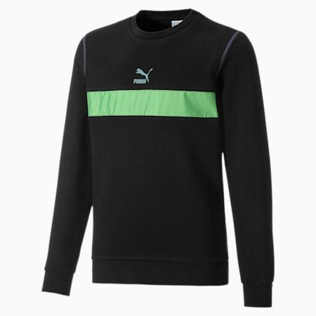 Kinder Sweatshirt mit Rundhals, Puma Black, small