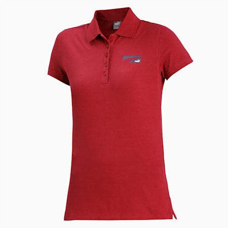 PUMA Formstripe Small Logo Women's T-Shirt, Burnt Russet, small-IND