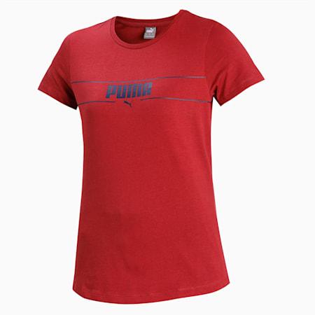 PUMA Small Logo T-Shirt, Burnt Russet, small-IND