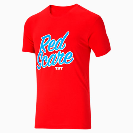 Camiseta del equipo TBT para hombre, High Risk Red, pequeño