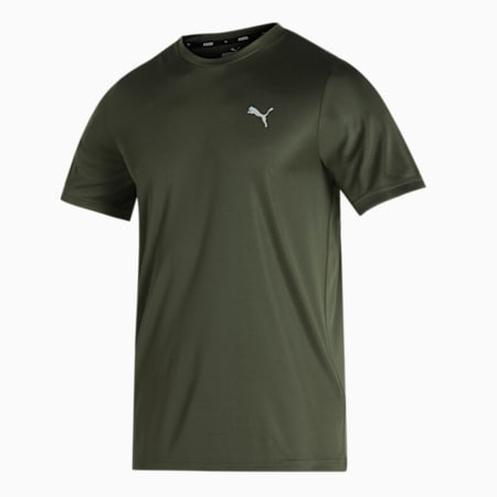 Active Poly Men's Slim T-Shirt, Forest Night, small-IND