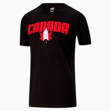 T-shirtfête du Canada, homme, Puma Black, petit