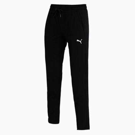 PUMA Women's 7/8 Slim Pants, Puma Black, small-IND