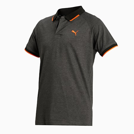 Pique Polo, Forest Night Heather, small-IND