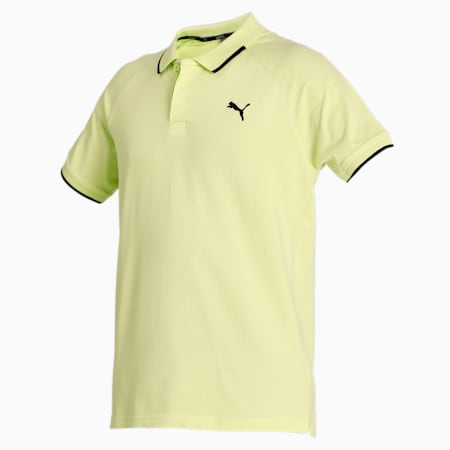 Pique Polo, Sharp Green, small-IND