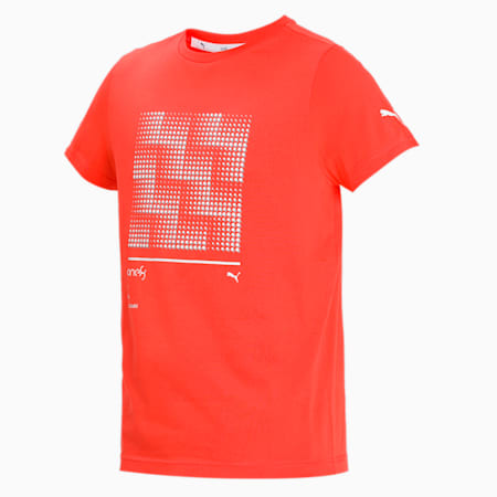one8 Virat Kohli Men's Graphic Slim T-Shirt, Hot Coral, small-IND