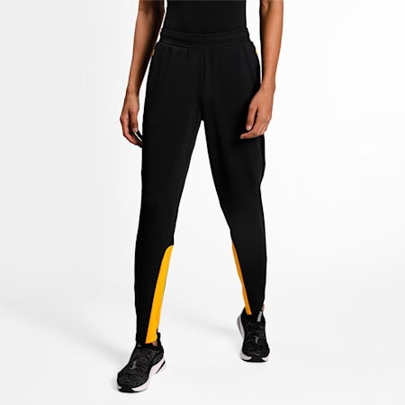 one8 Virat Kohli Men's Poly Slim Pants, Puma Black, small-IND