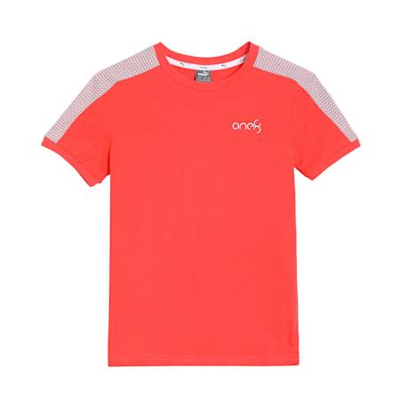 one8 Virat Kohli Boy's  Stylized  T - Shirt, Hot Coral, small-IND