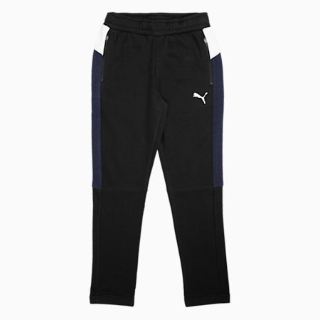 one8 Virat Kohli Boy's Training  Sweatpants, Puma Black, small-IND