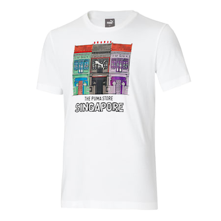 PUMA Shop House Tee, Puma White, small-SEA