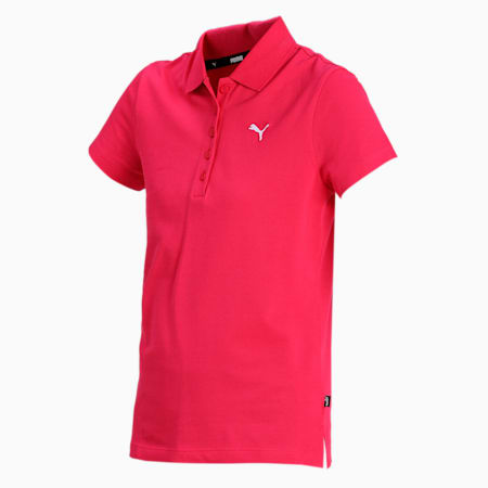 PUMA Women's Polo, Love Potion, small-IND
