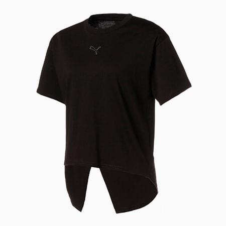 HER オープンバック 半袖 Tシャツ ウィメンズ, Puma Black, small-JPN