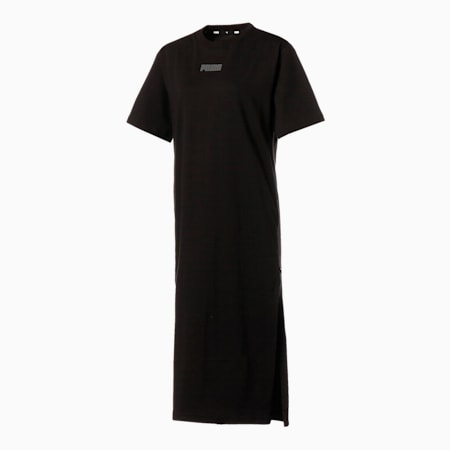 HER Tシャツ ドレス ウィメンズ, Puma Black, small-JPN
