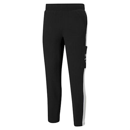 Pantalones deportivosRebel para hombre, Cotton Black, pequeño