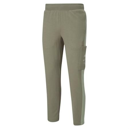 Pantalones deportivosRebel para hombre, Vetiver, pequeño