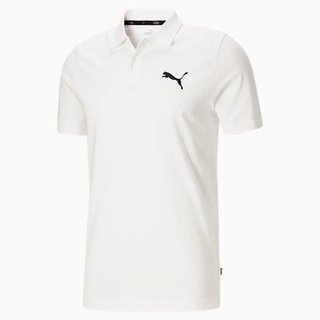 Polo en jersey Essentials, homme, Blanc Puma, petit