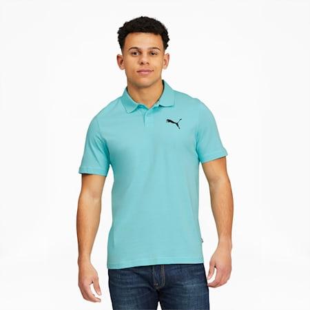 Polo en jersey Essentials, homme, Bleu angélique, petit