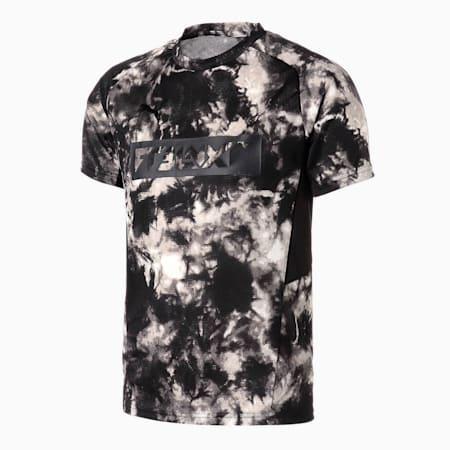 NXT ハイブリッド サッカー AOP 半袖 Tシャツ, Puma Black, small-JPN