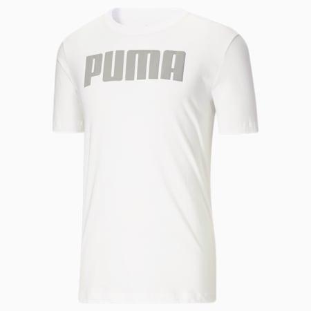 Camiseta Modern Basics para hombre, Puma White, pequeño