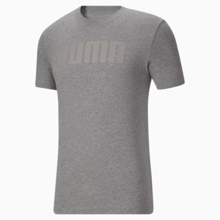 Camiseta Modern Basics para hombre, Medium Gray Heather, pequeño