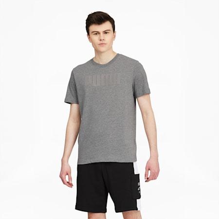 T-shirt Modern Basics, homme, Gris bruyère moyen, petit