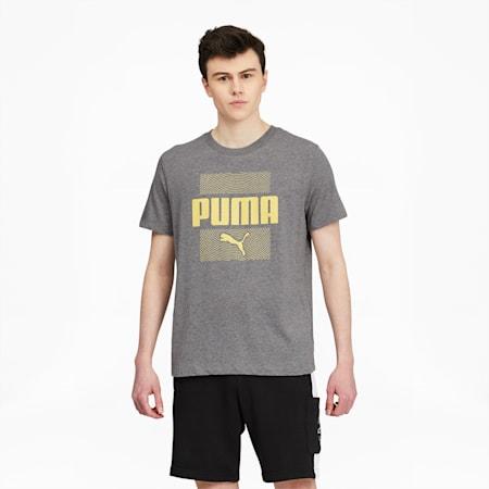 CamisetaMazepara hombre, Medium Gray Heather, pequeño