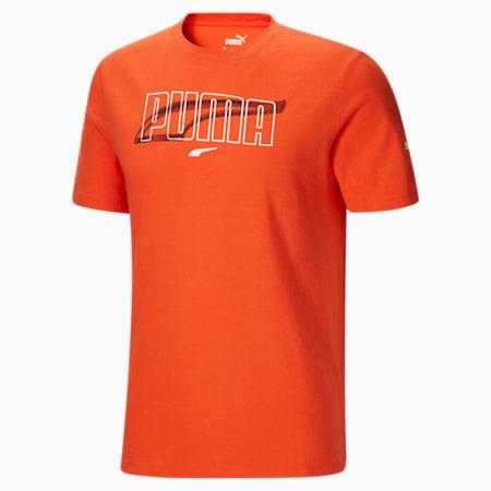 Camiseta Rebel para hombre, Tigerlily, pequeño