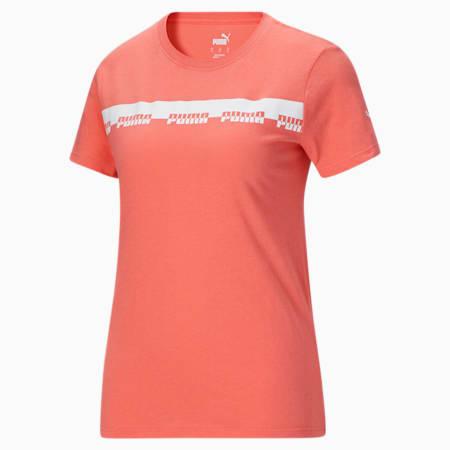 Camiseta Script para mujer, Georgia Peach, pequeño